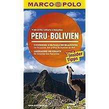 MARCO POLO Reiseführer Peru, Bolivien: Reisen mit Insider-Tipps. Mit EXTRA Faltkarte & Reiseatlas