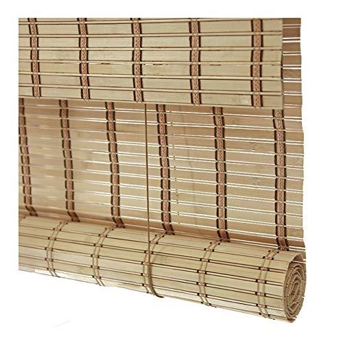 Pengfei tenda a rullo bamboo tapparella cortina di bambù interno tendina parasole sala da tè partizione, sollevamento - 2 colori, formato personalizzato (colore : a, dimensioni : 120x160cm)