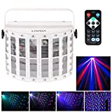Docooler 100-240V 24W RGBW LED 6 Canale Dmx 512 vocale Voice-control Controllo Automatico LED Proiettore DJ Casa KTV Discoteca Fase illuminazione Luci