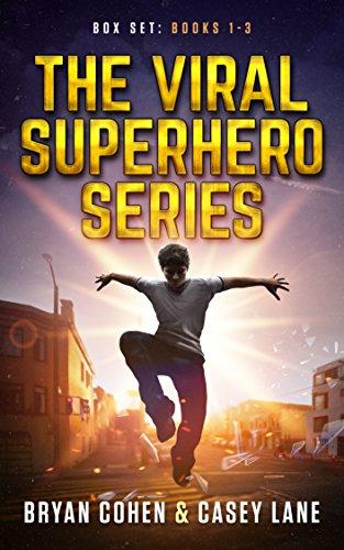The Viral Superhero Series Box Set: Books 1-3 (Viral Superhero Omnibus Book