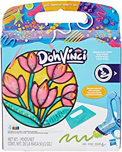 Play-Doh Dohvinci Stained Glass Effect Flower