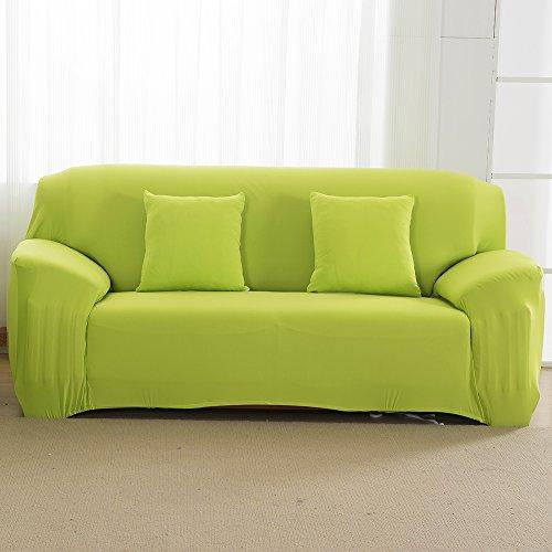 2 Sitzer Sofabezug Sofahusse Sesselbezug Sesselhusse Sofaüberwurf Elastisch Verfügbar In Verschiedenen Größen und Farben Grün