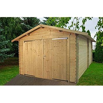 Garage ECO - box auto in legno da giardino Gartenpro ...