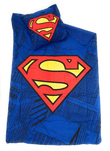 SUPERMAN DC COMICS Bettwäsche-Bettbezug wendbar 140x 200cm