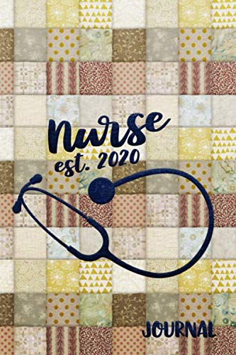 Nurse Est. 2020: An Old-Fashioned Lined Notebook For Brand New Nurses -