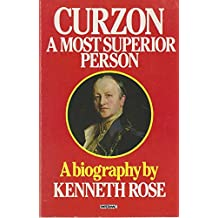 Papermac;Curzon,Superior Person: A Most Superior Person (Papermac S.)