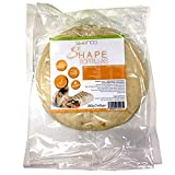 Shape Tortillas - Low Carb Tortilla, kohlenhydratarm, Wrap/Wraps, super Soft, 3er Pack (3 x 280 g / 3 x 7 Stück)