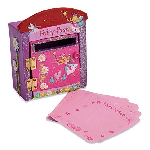 Briefpapier Mädchen - Rosa Briefkasten für Mädchen Post Box - Kinderzimmer Deko - Lucy Locket