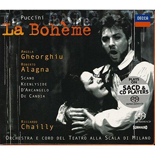 Puccini - La Bohème / Gheorghiu · Alagna · Scano · Keenlyside · D'Arcangelo · De Candia · Teatro alla Scala · Chailly [SACD Hybrid]