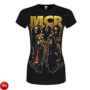 My Chemical Romance T-Shirt Appetite For Danger da donna in nero