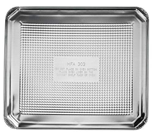 Folie Ofen Liner 47x 39,4cm Set von 10 Silikon-pan-liner