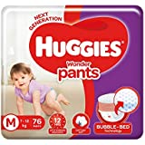 Huggies Wonder Pants Medium Size Diapers, 76 Count
