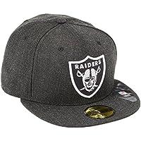A NEW ERA Era Rodmann Gorra Gorro NFL Oakland Raiders Stream Liner 2 59Fifty Negro Negro Jaspeado Talla:7 1/8