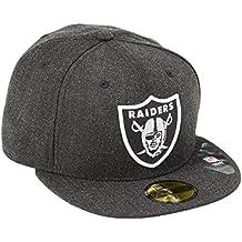 New Era rodmann gorra gorro NFL Oakland Raiders Stream liner 2 59Fifty Negro negro jaspeado Talla:7 1/8