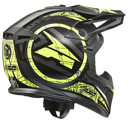 AXO Jump Helme, Schwarz/Gelb, M