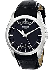 Tissot Herren-Armbanduhr Couturier Leder T0354071605100