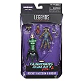 Marvel Guardians of the Galaxy Legends Series Rocket Raccoon, 6-inch
