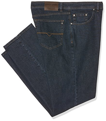 Pierre Cardin Herren Loose Fit Jeans Dijon 3231, Blau (Indigo 02), 36W / 36L (Fit Denim Relaxed)