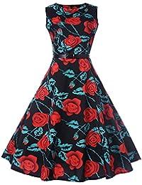 2231d8f29d27 KPILP Vintage rétro 1950 s Audrey Hepburn Robe de soirée Cocktail année 50  Rockabilly Robe de mariée