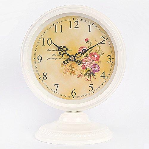 Continental idyllische Eisen Jugendstil Uhr Zeichnung Clock minimalistischen Mute Uhren Schlafzimmer...