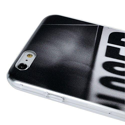 iPhone 6S Plus / 6 Plus Case Cover iPhone 6 Plus / 6S Plus Hülle YOKIRIN Bunt Gemalt PC Hardcase Schutzhülle Case Handyhülle Kunststoff Hartschale With Englisch Muster Englisch