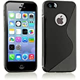 TPU Silikon Gel Skin schwarz Case Cover S-Line Sline für Apple iPhone 6Schutzhülle