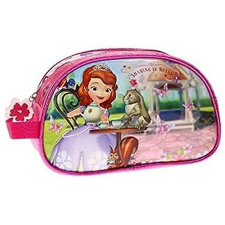 Disney Princesa Sofia Neceser Adaptable, Color Rosa