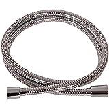 VARIOSAN Flexible de douche Premium 10100, 2,00 m, acier inoxydable, Chromé, DN15