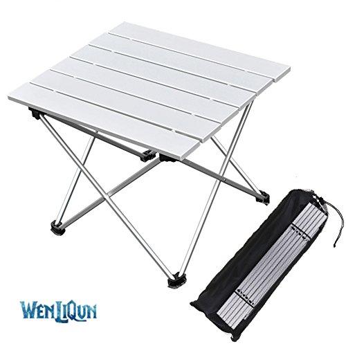 Tavolo In Alluminio Da Campeggio.Wenliqun Tavoli Da Campeggio Con Piano Del Tavolo In Alluminio Hard