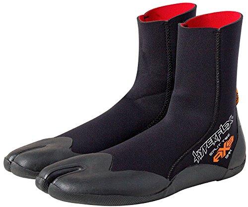Hyperflex Zugang 5mm Split Toe Boot, unisex, schwarz