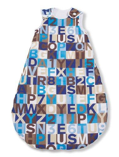 Preisvergleich Produktbild Pinolino 76654-6S70 - Kugelschlafsack Sommer 70 cm, sieger design for Pinolino 'ABC braun'