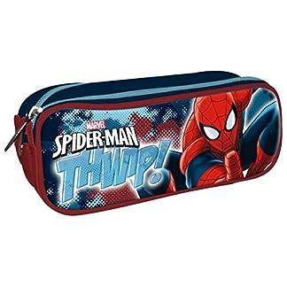 Disney – Estuche Doble con Cierre de Spiderman AST3902