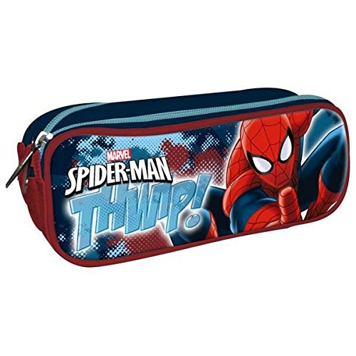 Portatodo doble spiderman marvel