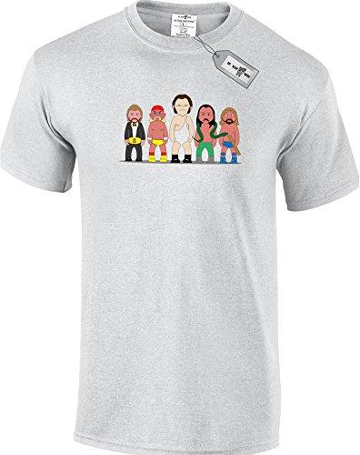 Eat Sleep Shop Repeat Herren T-Shirt Grau