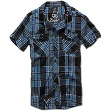 Brandit Roadstar - Camisa casual - con botones - manga corta - para hombre