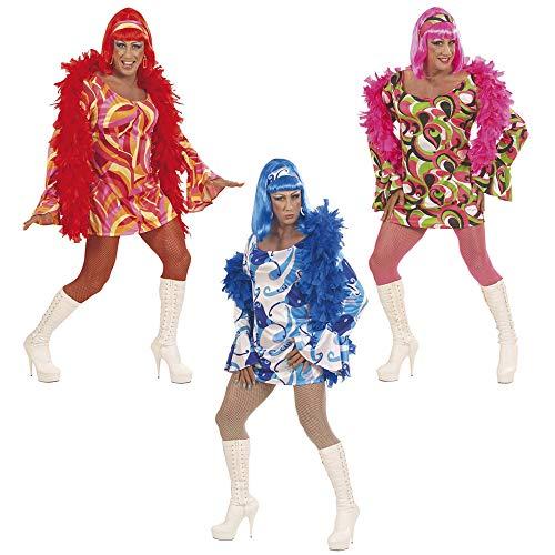 Queen Disco 70er Jahre Kostüm - Widmann 5790S - Drag Queen Kostüm 70er Jahre Disco für Herren