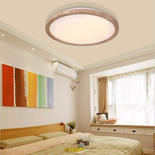 Einfache Moderne Schlafzimmer Runde Kleines Wohnzimmer Lampe Log Led