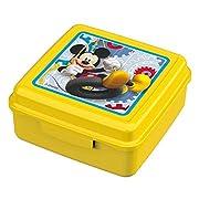 DisneyTopolinoMickey Mouse - BoxSpuntinoLunchbox PortamerendaPer ipanini,verdure,barrettedicerealiu.v.m.Snack Box in materiale moltorobusto.Chiusura:Click-UpMateriale:polipropilenePPDimensioni: 13x13x6 centimetri
