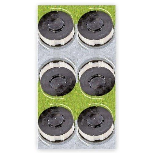 6 x Ersatzfadenspule Gardenline Trimmer Einhell ALDI (Craft Trimmer)