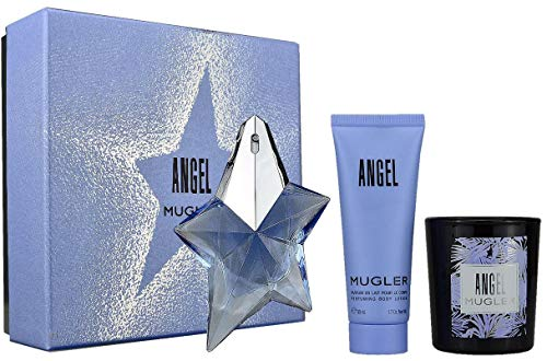 Muglr Angel 25ml Eau de Parfum + 50ml BL + 70G Kerze -