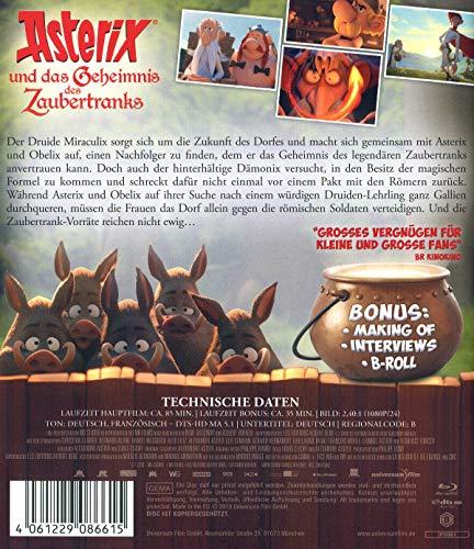 Asterix und das Geheimnis des Zaubertranks [Blu-ray]: Alle Infos bei Amazon