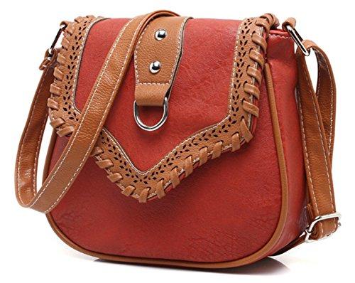 Keshi neuer Stil Damen Handtaschen, Hobo-Bags, Schultertaschen, Beutel, Beuteltaschen, Trend-Bags, Velours, Veloursleder, Wildleder, Tasche Lila