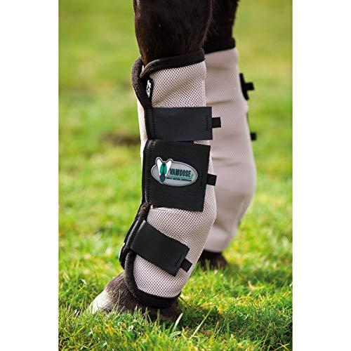 Horseware Rambo Fly Boots Vamoose Pony Oatmeal/Black -