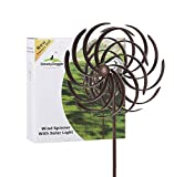 Best Wind Spinners - Solar Wind Spinner Multi-Color LED Light Solar Powered Review