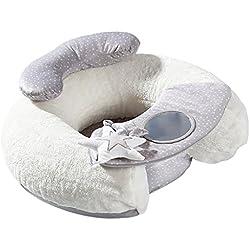 Baoblaze Siège de Soutien pour Bébé Apprentissage à Asseoir Siège Souple Coussin Canapé Jouet Lapin peluche