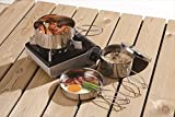 Best Sets royal couverts en acier inoxydable - Pot de Camping Set avec Sac Review