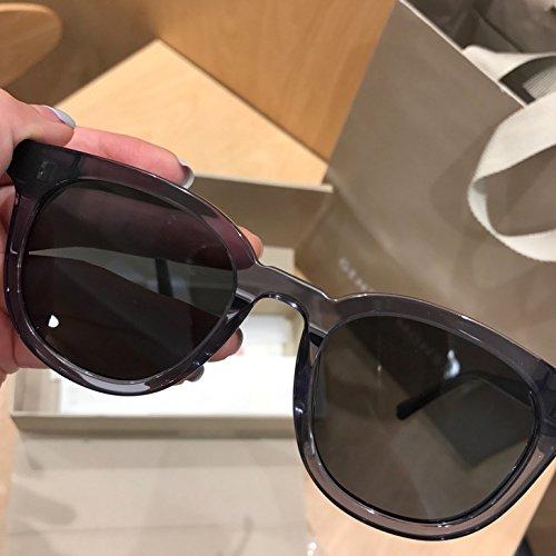 Unisex Sonnenbrille Für sanfte Monster-Sonnenbrille New Gentle man or Women Monster eyeware V brand KEY WEST G1 sunglasses for Gentle monster sunglasses -gray frame black lensesses