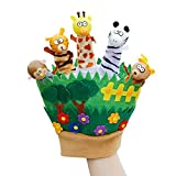 #3: Warmingecom Children Cartoon Finger Hand Puppets Dolls Animals Gloves Toys