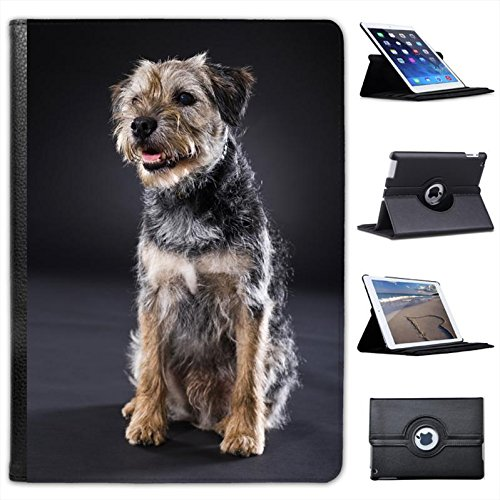 border-terrier-dog-sitting-for-apple-ipad-air-faux-leather-folio-presenter-case-cover-bag-with-stand