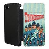Retro Thunderbirds Schutzhülle/Flip Case Cover Für Apple iPhone 5°C–tf878–Scott Tracy Vergil